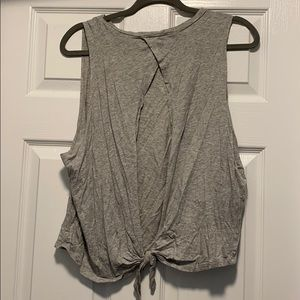 Forever 21 Open Back Knot Athleisure Tank